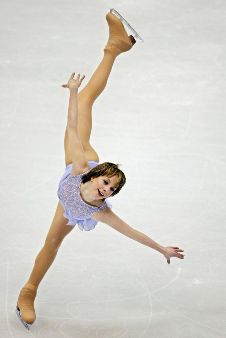 Sarah Hughes winning gold was one of the best things I've ever seen on TV. Her enthusiasm just shot those grizzled vets down. Loved it. Love her. Love the Olympics!!!