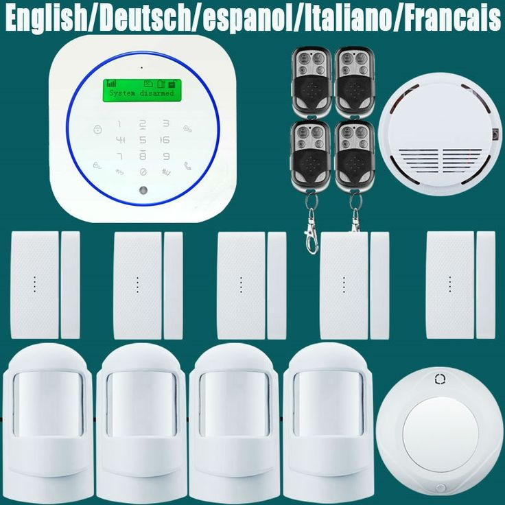 (100.04$)  Watch more here - http://aip9o.worlditems.win/all/product.php?id=32803298199 -  wireless zones andriod app control GSM alarm system with touch screen TFT color display home alarm system PIR Motion Senson