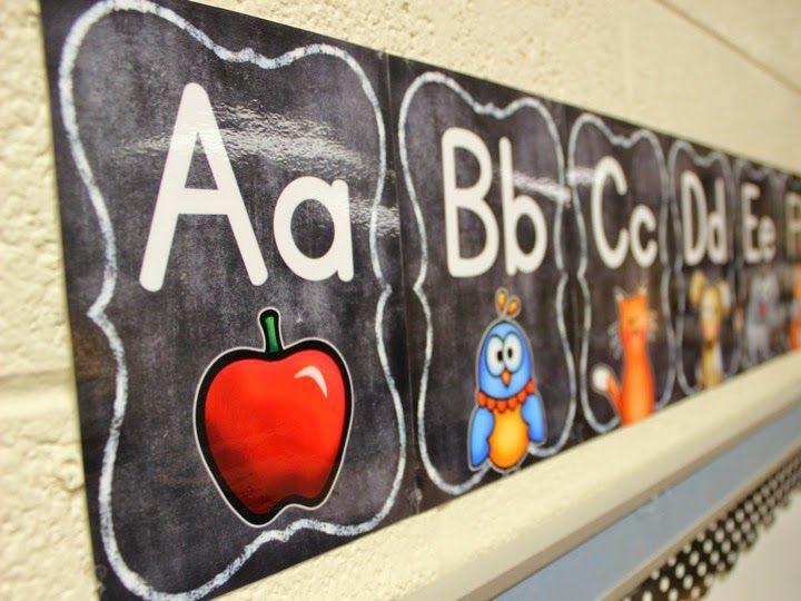FREE Class Alphabet
