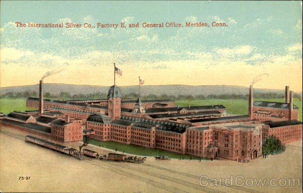 The International Silver Co. Meriden Connecticut