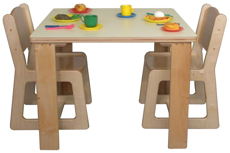 Baby Plastic Table And Chairs Set