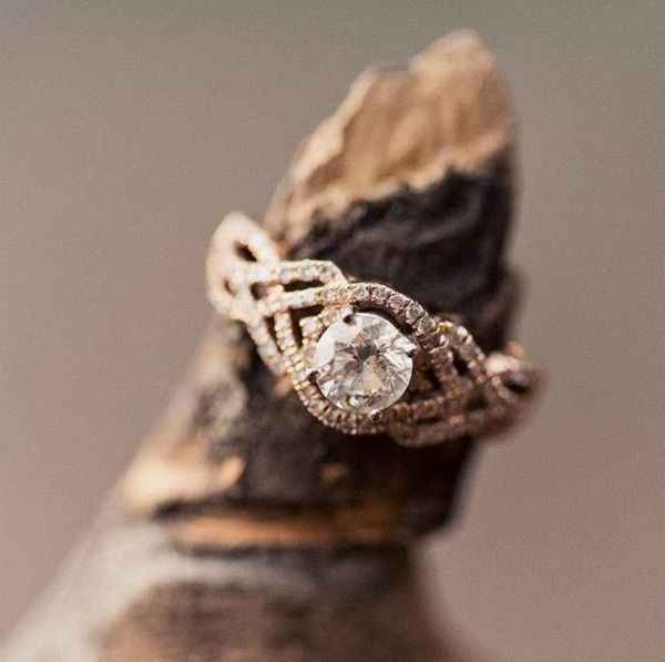 Diamond Engagement Rings  >> 18 Wedding Rings Designs Ideas You'll Actually Want to Wear