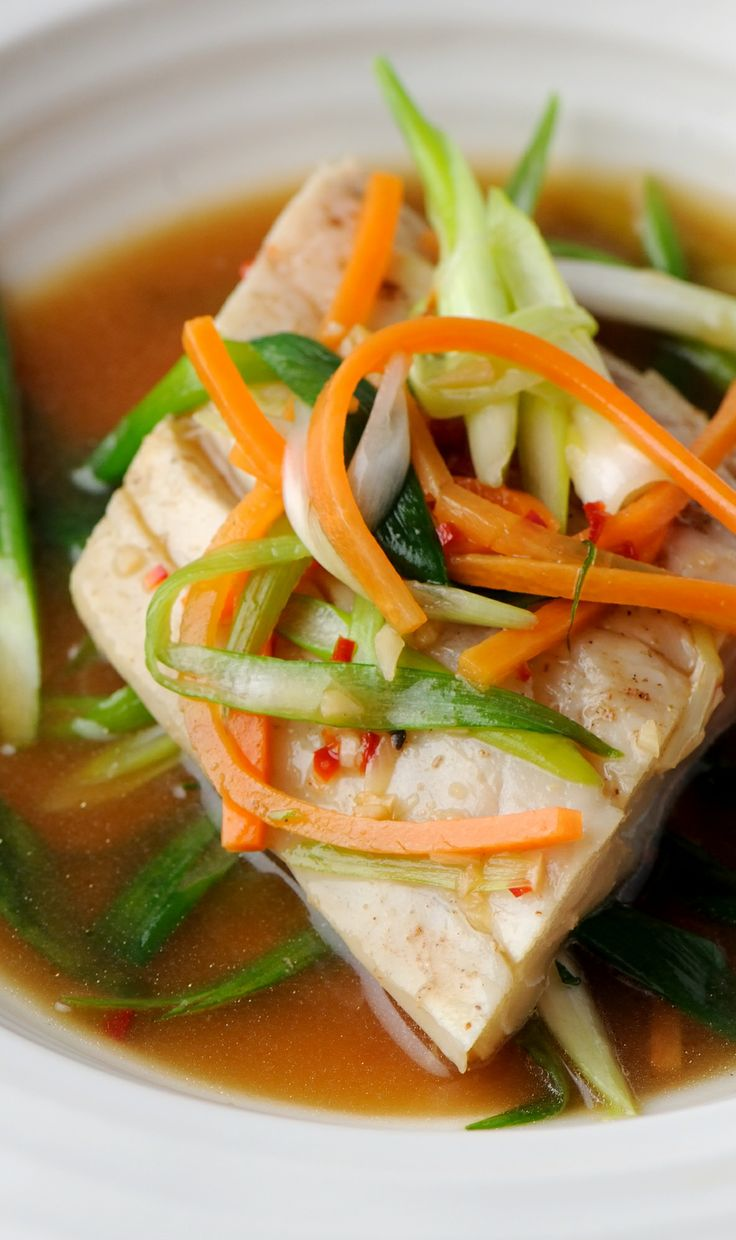 Steamed sea bass with Chinese 5 spice - Shaun Hill
