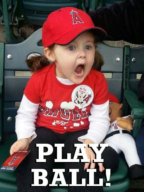 Angels Baseball! Gotta love it!  <3