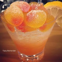Vodka and Peach Schnapps is one amazing combination for our Peach Sour Spritzer! Recipe? Click Here! www.tipsybartende...