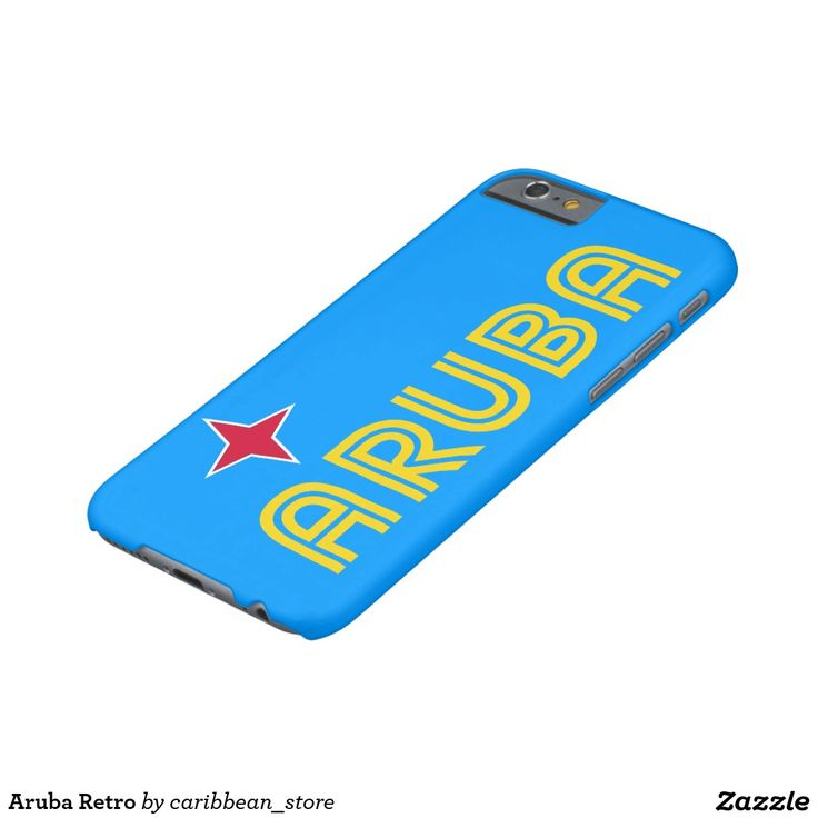 Aruba Retro Barely There iPhone 6 Case.