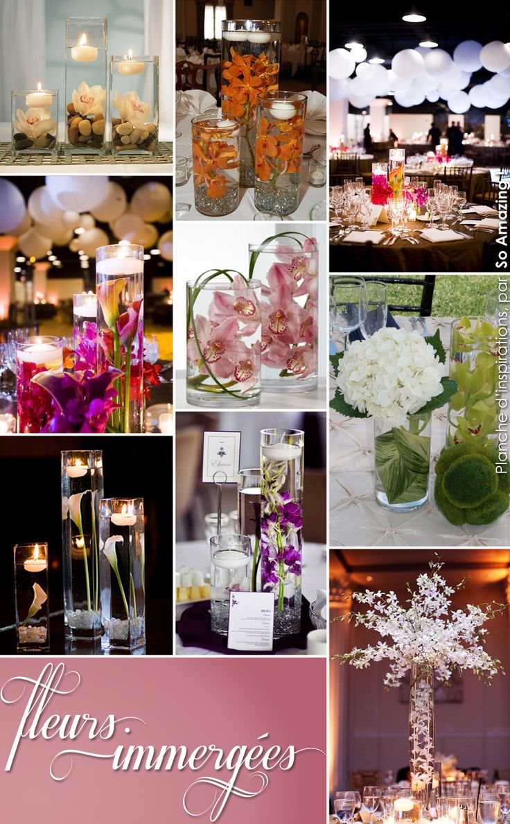 39 best centre de table images on pinterest centerpiece for Idee deco vase
