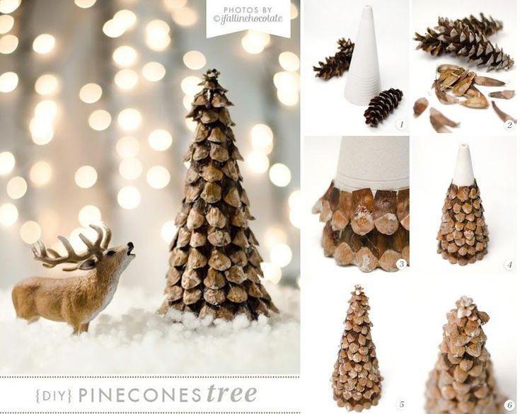 24 best images about decorazioni natalizie realizzate con - Decorazioni natalizie con le pigne ...