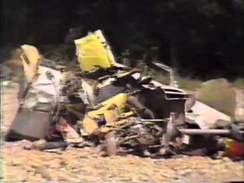 Stevie Ray Vaughan's Death in 1990 announced on SABC News