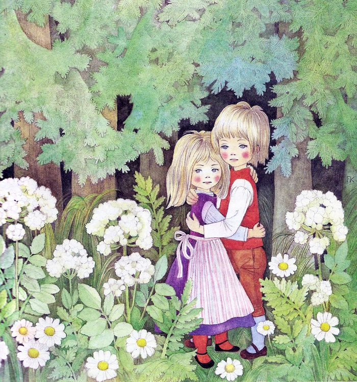 'Hänsel und Gretel' by Felicitas Kuhn [Ueberreuter] By aMJel