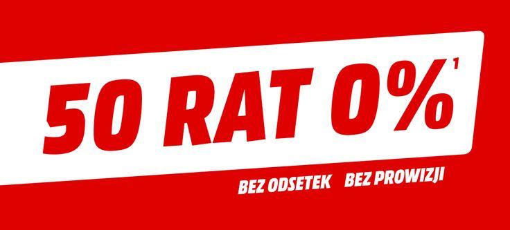 Raty 50x0 procent - MediaMarkt.pl