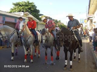 Desfile hípico Chichigalpa 2012