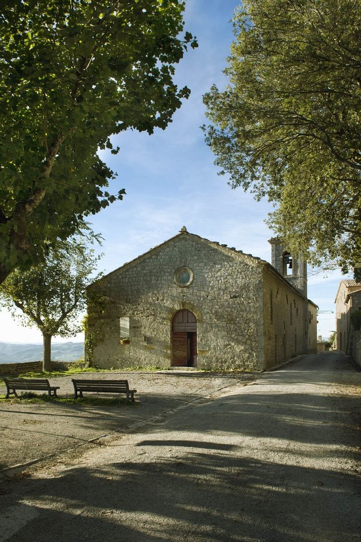 Step Back in Time in a Magnificently Restored Medieval Village in Tuscany