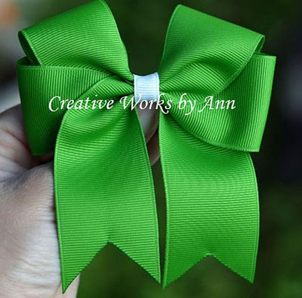 Step by step how to make bows