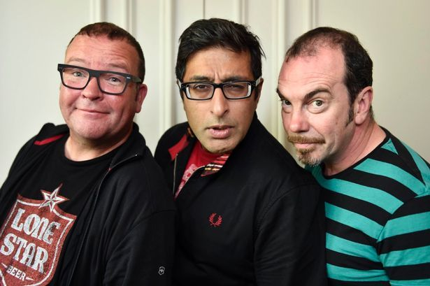From Still Game... Paul Riley (Winston), Sanjeev Kohli (Navid) and Gavin Mitchell (Boabby)