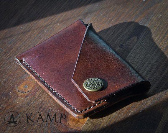 Leder-Kreditkarteninhaber / Brieftasche