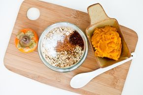 Pumpkin persimmon overnight oats, filled with bright, sweet, juicy bits of persimmon mixed with the rich, cinnamon-scented pumpkin, was just what I was...