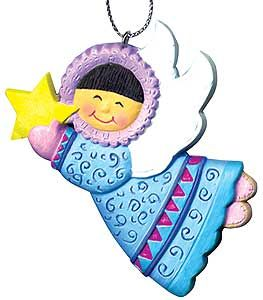 Asiaforkids.com - World Ornaments, Children of the World, Angel Ornaments, Asian Angels
