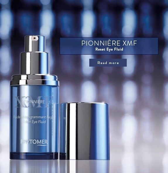 PIONNIÈRE XMF - Reset Eye Fluid is your one stop eye treatment cream that treats a myriad of concerns.    This treatment :  1.Produces visable results in 7 Days 2.Firms the eyelids 3.Eliminates dark circles 4.Diminishes puffiness around the eyes 5.Reduces the appearance of wrinkles  Phytomer's Pionniere XMF Products are available at   YourSkinConfidential.com