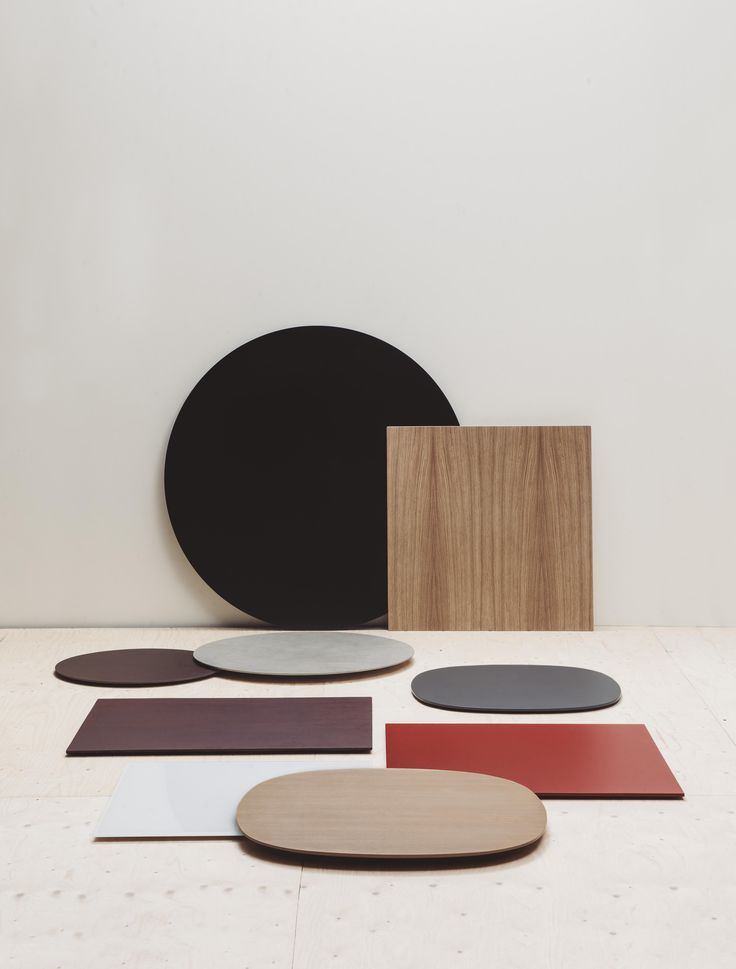 #Table #Tops. The possibilities of the Top Collection are so vast that they can satisfy any #interior #design need. The traditional #square and #circular shapes are complemented by an #elliptical design developed by carefully combining four different ellipses in a single gesture.