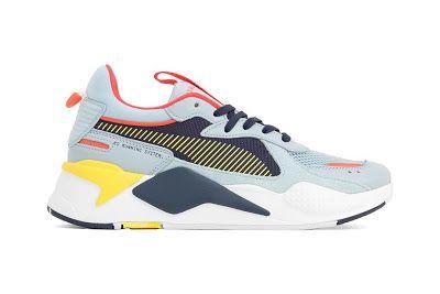 cea83111040 EffortlesslyFly.com - Online Footwear Platform for the Culture: PUMA RS X  Reinvention Sky and Red Blast