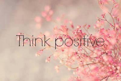 ¡Buenos días! ¡Piensa en positivo!