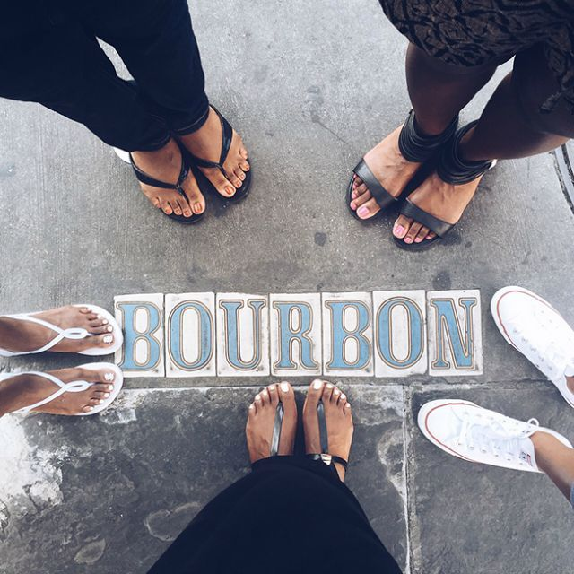 From snacking on tasty beignets to the wild party scene on Bourbon Street, these gals filled us in on their amazing New Orleans bachelorette party weekend.
