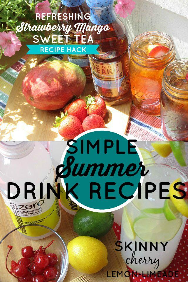 One Savvy Mom ™ | NYC Area Mom Blog: Simple & Refreshing Summer Drink Recipe Hacks #Hyd...
