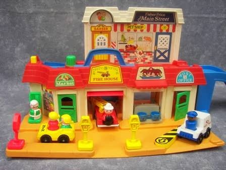This may have been one of my FAVORITE toys as a kid :D ……………..Fisher P