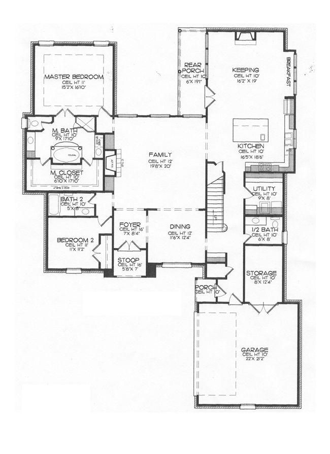 15 best Lake House Plans images on Pinterest | Lake house plans ...