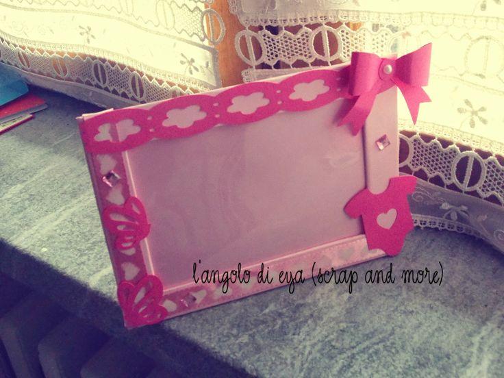 cornice nascita bimba http://langolodieya.blogspot.it/