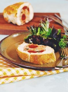 Spanish-Style Chicken Galantine