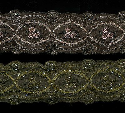Organdy Ribbon - Oh so beautiful! Another great embellishment for crazy quilting from Flights of Fancy Boutique.com