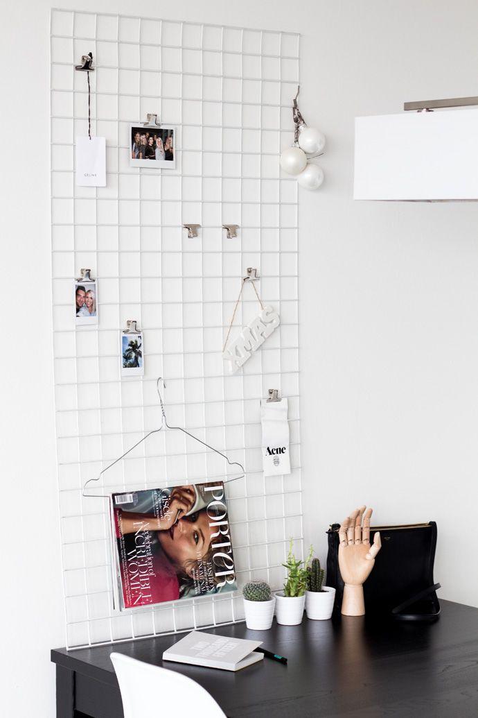 Minimal iron mesh moodboard | Chocolate Heels