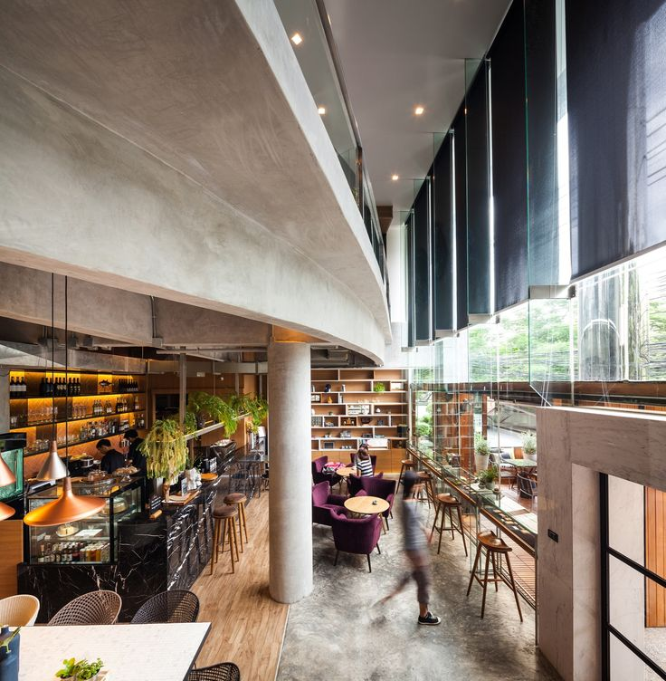 Completed in 2015 in Bangkok, Thailand. Images by Spaceshift Studio. The coffee shop that doesn't solely serve coffee but can simultaneously be provided as the multi-purpose space. Besides, it must also be able to...
