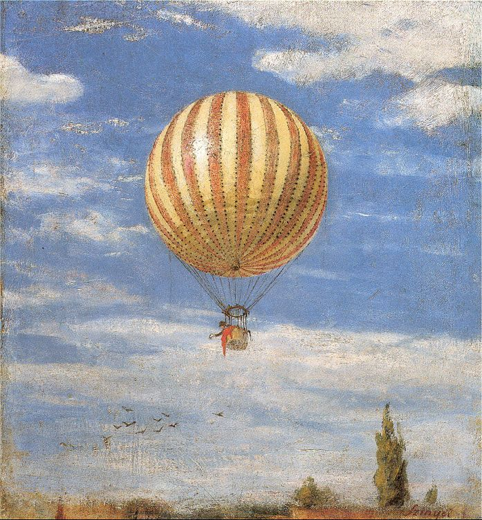 Pal Szinyei Merse   The Balloon