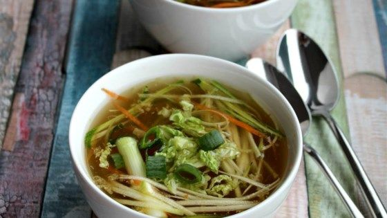 This is a vegetable version of the classic Thai Tom Yum soup. You can find lemongrass, kaffir lime leaves, and galangal (a close relative of ginger) at any Asian supermarket. If you can't find the lime leaves, you can add extra lime juice to taste, but do try to find the lime leaves because they make a big difference. It tastes just like my local Thai restaurant!