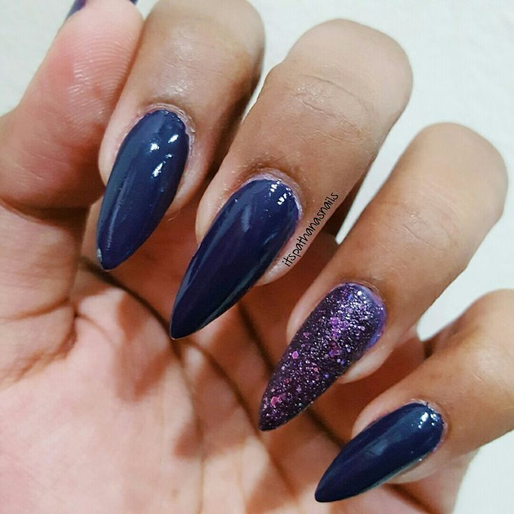 Acrylic stiletto extensions