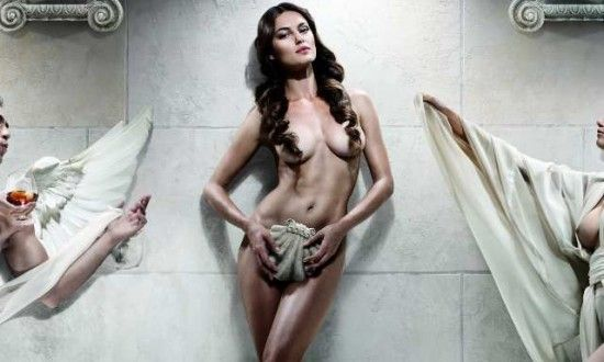 Catrinel Menghia for 2012 Alexandrion calendar by Marius Baragan - photography detail