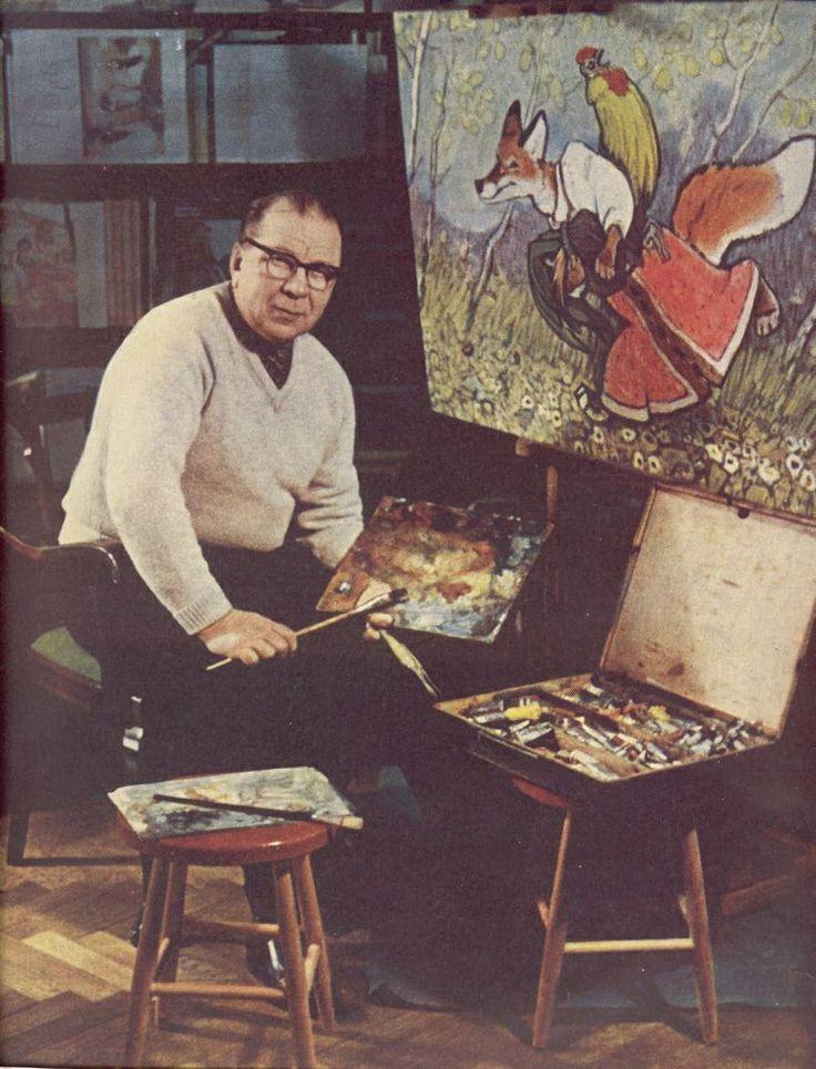 Evgeny Rachev, Russian illustrator