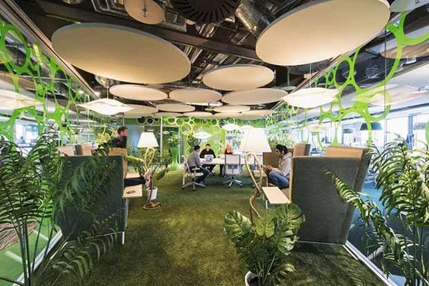 """La nuova """"green"""" sede Google di Dublino: non chiamatelo """"ufficio"""""""