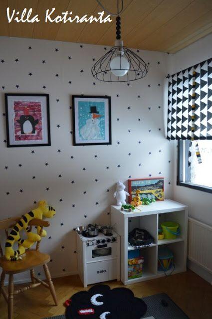 DIY: Kattovalaisin lastenhuoneeseen edullisesti. / Ceiling light for children's room with low costs.
