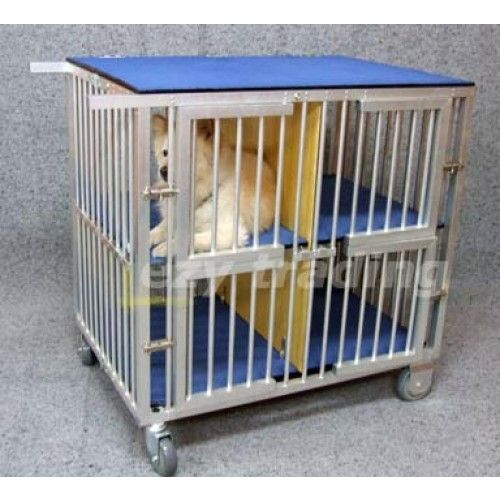 4berth aluminum dog show trolley optional canvas cover available