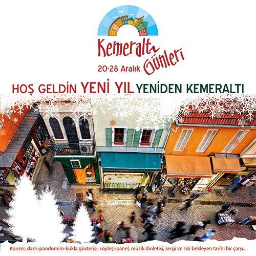 Kemeraltı Günleri başladı   İzmir'de Sanat