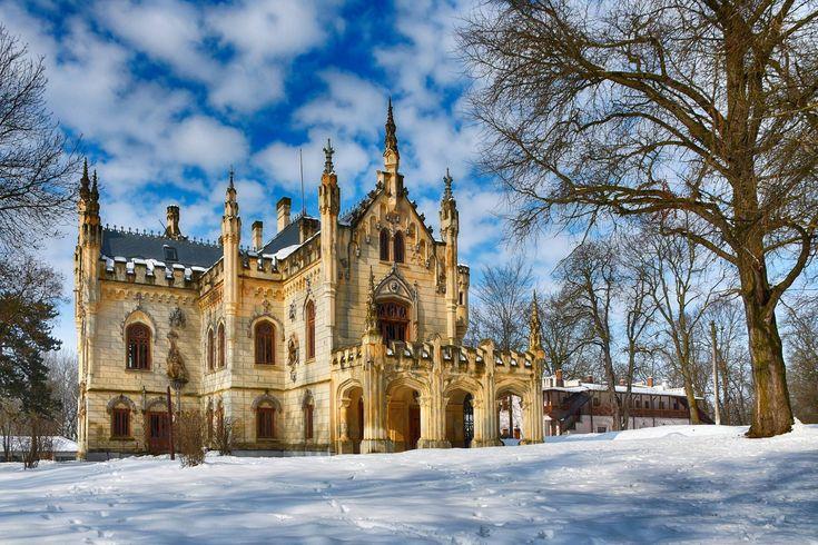 Pe lângă Vaslui Foto: Adrian Măcincă #romaniaazi #romania #castel #palat #arhitectura #peisaj