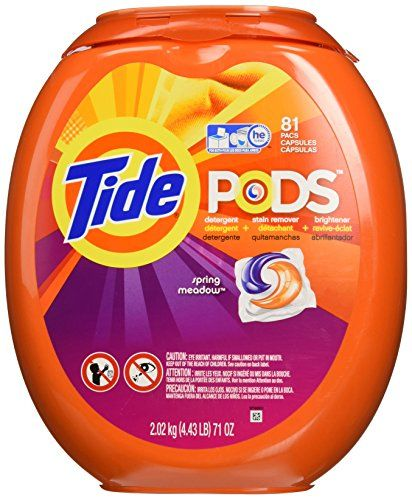 Tide Pods He Turbo Laundry Detergent Packs, Spring Meadow