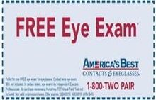 Free Eye Exam Coupons Discounts & Deals!