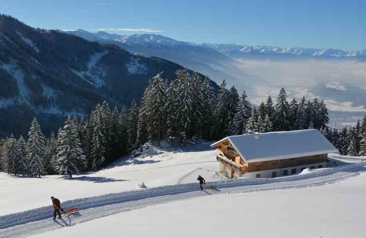 WINTERWANDERUNG MITTENWALD - winterwandern Bayern