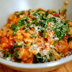 tomato and sausage risotto | Food | Pinterest