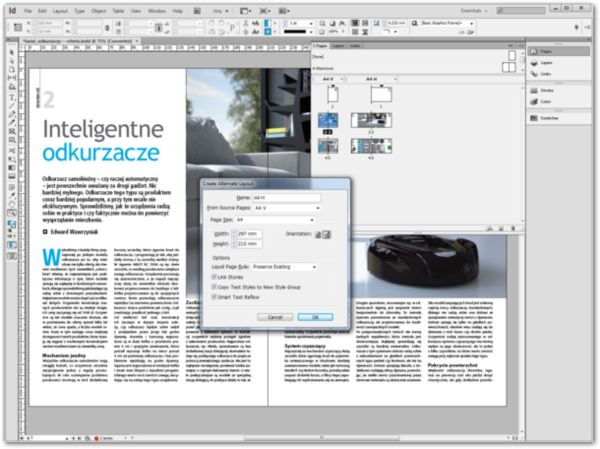 indesign layout